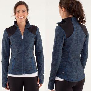 Lululemon Forme Jacket Limitless Blue Black